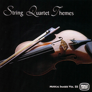 A variety of themes with a string quartet.