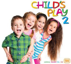 Light hearted musical themes for children's activities & comedy situations.