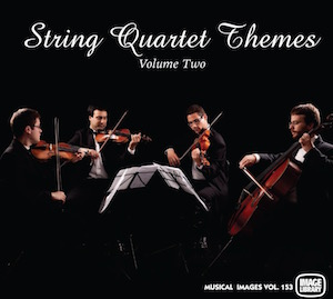 A selection of classical string quartet works ideal for backgrounds.