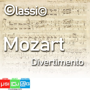 Wolfgang Amadeus Mozart (27 January 1756 - 5 December 1791), baptised as Johannes Chrysostomus Wolfgangus Theophilus Mozart,[b] was a prolific and influential composer of the Classical period. Composed in Salzburg in early 1772, these divertimenti, althou