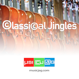 Jingles and loops of the most famous themes of classical music played by The Quatuor Parisii.