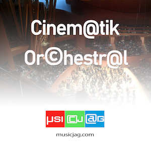 Cinématik Orchestral offers a variety of adventure themes, mysteries with majestic, progressive, symphonic, dramatic and folk atmospheres.